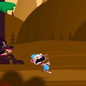 Игра Убегая от медведя