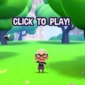 Игра Бешеная бабка: Прыжки