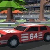 Игра Пиксельные автогонки 3Д