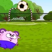 Игра Смешарики: Бараш и футбол