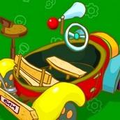 Игра Смешарики: Пин и автомобиль