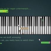 Игра Пианино онлайн