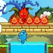 Огонь и Вода на необитаемом острове