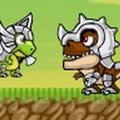 Игра Динозавтры — охотники за мясом