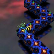 Приключение неонового шара 3D