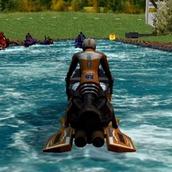 Игра Сумашедшие гонки водных скутеров 2