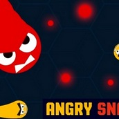 Игра Angry snakes