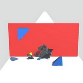 Бегущий кубик рубик