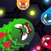 Игра Злые червячки