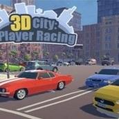 Игра 3Д город на 2 игрока