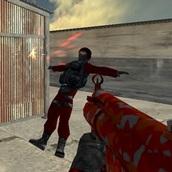 Игра Контр страйк с разным оружием