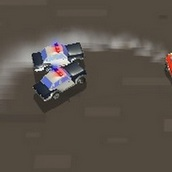 Игра Машины против полиции
