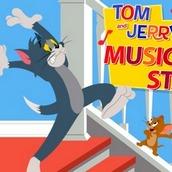 Игра Том и Джерри: Музыкальные ступени