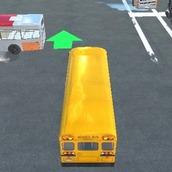Припаркуйте автобус 3Д