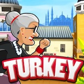 Бабка сбежала из Психушки: Турция