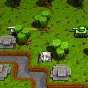 Игра Воксельный танк 3Д