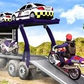 Игра Грузовой транспорт полиции