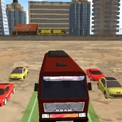 Игра Экстремальное вождение автобуса 3Д
