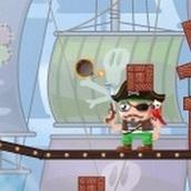 Игра Рикошет с пиратами