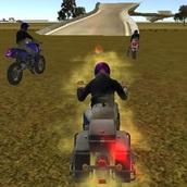 Игра Бешеные мото-каскадеры