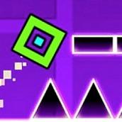 Игра Геометрия Даш: Опасное приключение