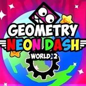 Игра Неоновая Геометрия Даш: мир 2
