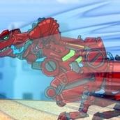 Красный Робот Тираннозавр