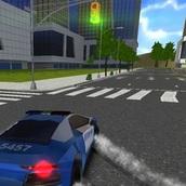 Внедорожный полицейский автомобиль