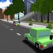 Игра Блочные автомобили