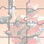 Игра Пазлы с Могучими Рейнджерами Самураями