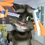 Кот Том: Уход за глазами