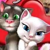 Говорящий кот Том: Поцелуи