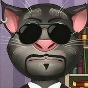 Говорящий кот Том: Модный Макияж