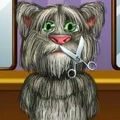 Кот Том: Бреется