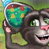 Игра Говорящий кот Том: Лечит Ухо
