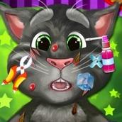 Игра Говорящий кот: Ранение