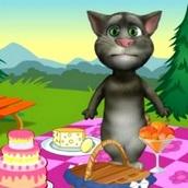 Игра Кот Том: Пикник