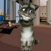 Игра Говорящий кот Том: Дизайн комнаты