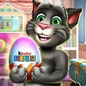 Говорящий кот Том: Киндер Сюрприз