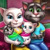 Игра Кот Том: День с Близнецами