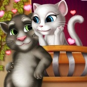 Игра Кот Том: Поцелуй