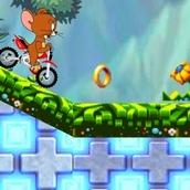 Игра Том и Джерри: Гонка на Мотоцикле Джерри