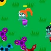 Игра Спиннер против Зомби