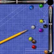 Игра Геометрический бильярд