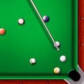 Игра Бильярд: 8 ball pool на одного