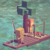 Игра Бумажный Майнкрафт 3Д: выживание