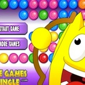 Игра Веселая стрелялка шариками из лука