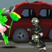 Игра Против зомби в одной команде на двоих