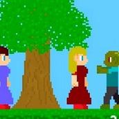 Игра Зомби на двоих для девочек