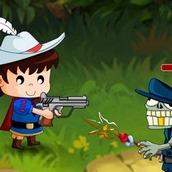 Игра Королевская охота на зомби на двоих